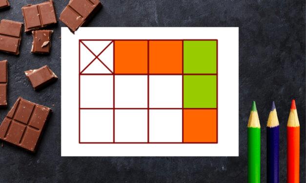 Łamiemy czekolady – gra na łamanie głowy