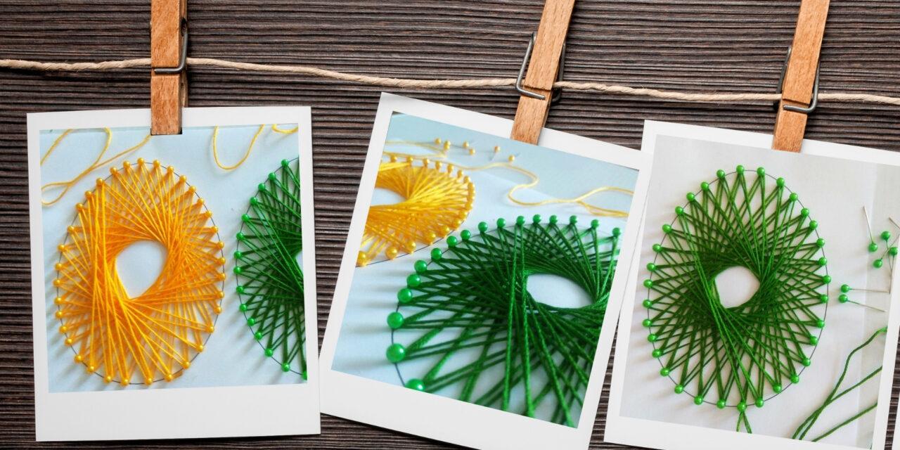 Jaja jak wyszywane, czyli haft matematyczny w wersji świątecznej