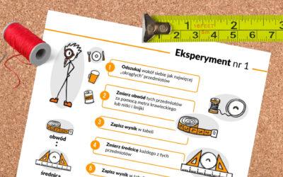 Eksperyment na dzień PI, czyli coś dla badaczy πięknych zależności