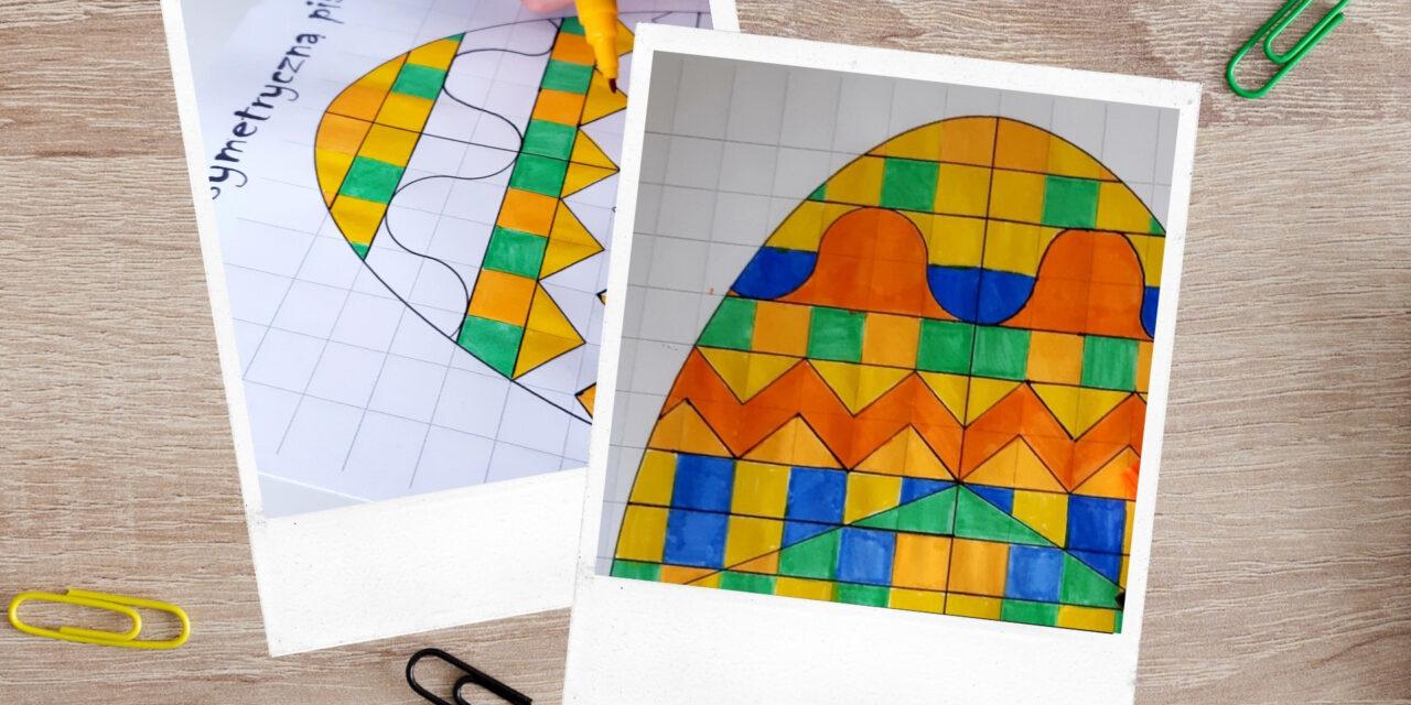 Zmaluj symetryczną pisankę